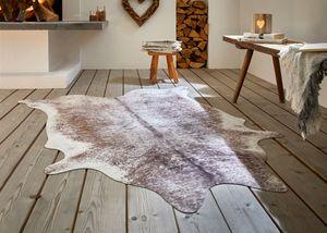 Teppich 'Kuhfell', bedruckt, Felloptik, authentisch, dekorativ, Hingucker