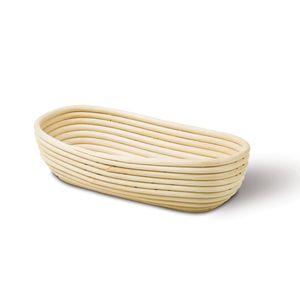 Neustanlo Gärkörbchen Gärkorb aus Peddigrohr  Oval 30,5 x 14 cm 0,5 kg