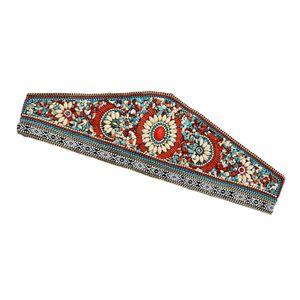 Retro Stretchy breite Taille Cinch Belt Vintage Stoff Zubehör Körperschmuck 2 1 wie beschrieben