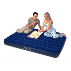 Intex 68758 Luftbett Classic Downy, blau