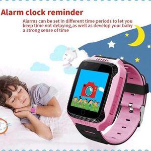 GPS Uhr Kinder Telefon GPS Schulmodus SOS Notruf Smartwatch Kinder Kinderuhr ohne Abhörfunktion/mit sicherem Deutschen Server