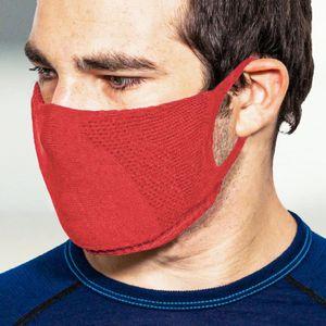 TRERE Social Mask Sportmaske Mund-Nasen-Bedeckung red S