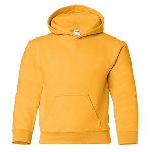 Gildan Kinder Sweatshirt mit Kapuze BC469 (S) (Gold)