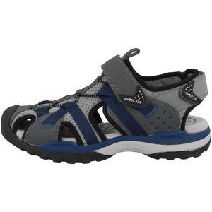 GEOX - Kinder klassische Sandale Grau Schuhe, Größe:33