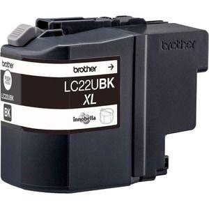 Brother LC22UBK Tintenpatrone - Schwarz - Tintenstrahl - 2400 Seiten - 1er Pack