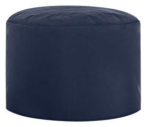 Sitzsack DotCom Swing Scuba Ø 50 cm, Höhe 30 cm,  Jeansblau Dc50/30