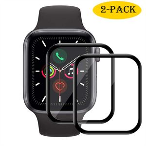 Apple Watch iWatch Series 4 Series 5 44mm NANO Panzerfolie Display Schutz Folie Screen Protector Schutzglas Panzerglas Full-Screen