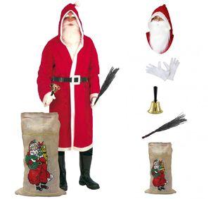 Nikolaus-Set, Weihnachtsmann-Set (6 Teile)