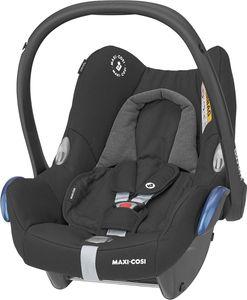 Maxi Cosi CabrioFix Babyschale Autositz Kindersitz 0-13 Kilo Gruppe 0+ Essential Black schwarz