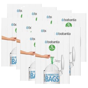10x Brabantia Müllbeutel Spenderverpackung 30 l(G)40 Stück
