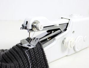 Elektrische Handnähmaschine Mini tragbar Reisenähmaschine Nähmaschine Hand