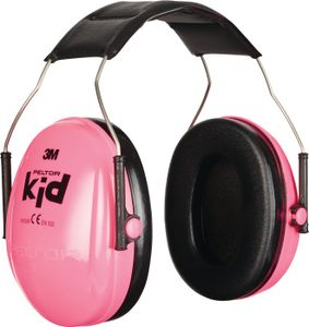 3M Kapselgehörschutz Peltor Kid für Kinder, pink