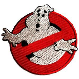 Ghostbuster Comic Kinder Film - Aufnäher, Bügelbild, Aufbügler, Applikationen, Patches, Flicken, zum aufbügeln, Größe: Ø 7,5 cm