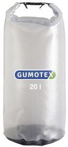 Gumotex wasserdichter Packsack transparent 8-20 Liter, Volumen:20 Liter