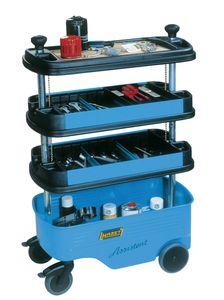 Werkstattwagen 166C m.4Fächern 725x398x1102/647 HAZET blau