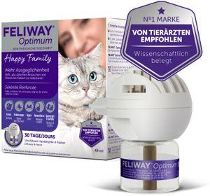 FELIWAY® Optimum Verdampfer + 30 Tage Nachfüllflakon 48ml – für noch ausgeglichenere Katzen