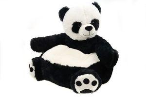 Sessel/Stuhl/Sofa für Kinder, versch. Tiere, weicher Plüschbezug 50 * 50 * 45cm (Panda)
