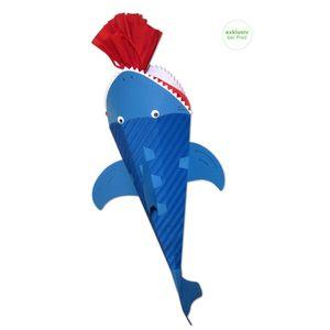 Schultüte Bastelset Haifisch,