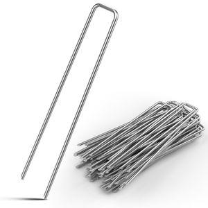 Erdnagel Ø 2,7mm Stahl verzinkt Erdanker Bodenanker, Anzahl:100er Set
