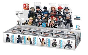 Bausteine Police Serie Minifiguren