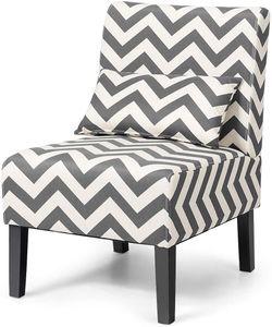 COSTWAY Loungesessel mit Rückenkissen, Polsterstuhl Ohrensessel Clubsessel Lesestuhl Couchsessel Cocktailsessel ideal für Wohnzimmer, Schlafzimmer und Büro, 53 x 70,5 x 81cm