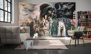 """Komar Digitaldruck Vliestapete """"Star Wars Collage"""", bunt, 400 x 250 cm"""