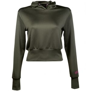HKM Sweatshirt-Survival-, Farbe:5700 olivgrün, Größe:XS
