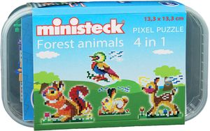 Ministeck Forest animals 510T 4in1
