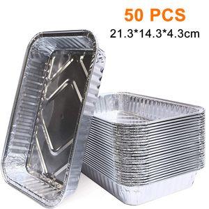 60 STÜCKE Alu Grillschalen Aluminium aluschalen Grill klein alu tropfschalen Grill Zubehör