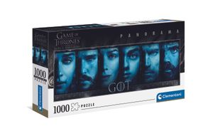 Clementoni 39590 Game of Thrones 1000 Teile Panorama Puzzle