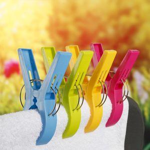 XXL Klammern in bunten Farben - H: 12,5cm - 4er Set