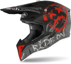Airoh Wraap Smile Jugend Motocross Helm