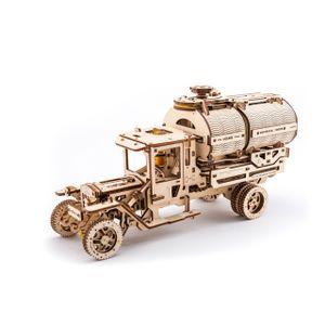 Ugears - Holz Modellbau Tanker Tankwagen 594 Teile