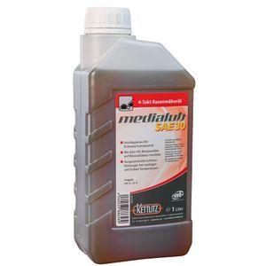 KETTLITZ-Medialub SAE 30 - 4 Takt Rasenmäheröl API SJ/CF-4 - 1 Liter Gebinde