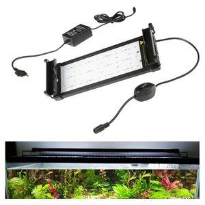 EINFEBEN LED Aquarium RGB &Vollspektrum Aufsetzleuchte Beleuchtung 30-50cm