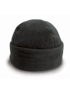 Fleece Ski Bob Hat Wintermütze - Farbe: Black - Größe: M