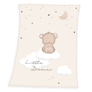 Little Dreamer Soft Peach Decke / Babydecke, 75x100 cm