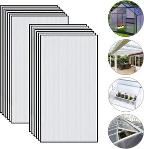 14 xPolycarbonatplatten PC MW 4 MM KLAR 605X1210 mm
