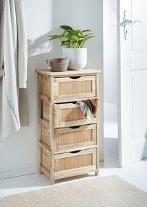 Kommode 'Bambus' Möbel Bambusfront Naturmaterialien Naturfarben Blickfang