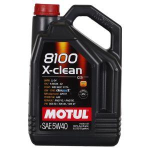 Motul 8100 X-clean 5W-40 5 Liter Kanister