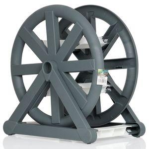 Zelsius Poolschlauch Aufroller | Schlauchtrommel für Ø 32/38mm Schlauch bis 15m