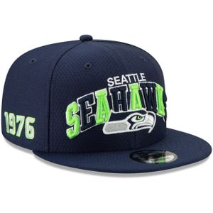 New Era NFL SEATTLE SEAHAWKS Authentic 2019 Sideline 9FIFTY Snapback Home 1990 Game Cap