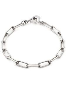Leonardo 019747 Damen Armband Estrella Clip&Mix Edelstahl Silber 19 cm