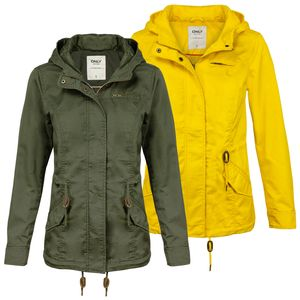 ONLY Damen Jacke onlNEWLORCA, Farbe:oliv, Größe:S