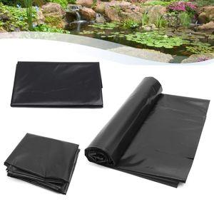 Teichfolie Gartenteich Schwimmteich Teichbau HDPE Zuschnitt Folie Schwarz 1,5*3m