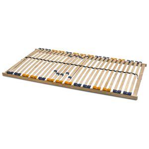 Lattenrost Multira starr oder verstellbar mit 28 Federleisten in viele Größen, Betten-Abmessung:120 x 200, Verstellbarkeit:starr