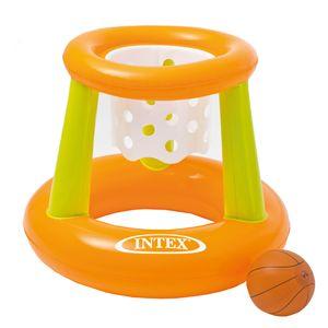 Intex Basketballspiel Ball Badespiel Badespaß Basketball Pool Spiel aufblasbar