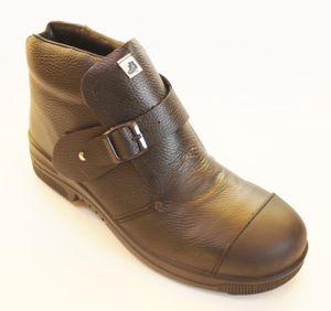 OTTER 95173 Sicherheitsschuhe Schweißer Schweissen Schweißerstiefel Hoch Stiefel, Größe:39