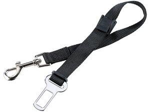 Auto Hunde Anschnallgurt KfZ Sicherheitsgurt + Autogurt Adapter 60cm Hundeleine Kurzleine