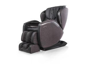 CASADA Massagesessel HILTON III - für eine starke Massage - Fernsehsessel Liegesessel grau